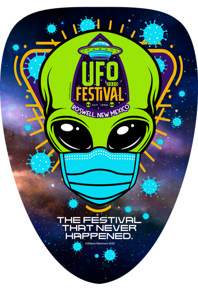 "2020 UFO ""Festival That Never Happened"" Sticker"