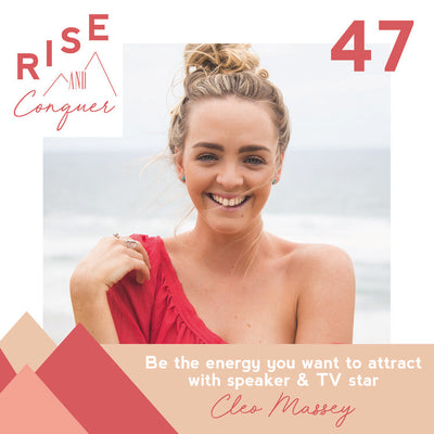 Be the energy you want to attract with speaker & TV star Cleo Massey