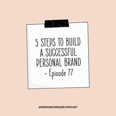 Episode thread: 5 Steps to build a influential & successful person brand ⚡️*BOSS IT SERIES #4*