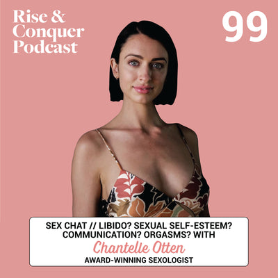SEX CHAT// Libido? Sexual self-esteem? Communication? Orgasms? Award-winning sexologist Chantelle Otten answers your Q's!
