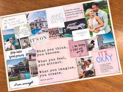 Create your own reality!! DIY Vision Board