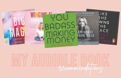 My Audible Book Recommendations