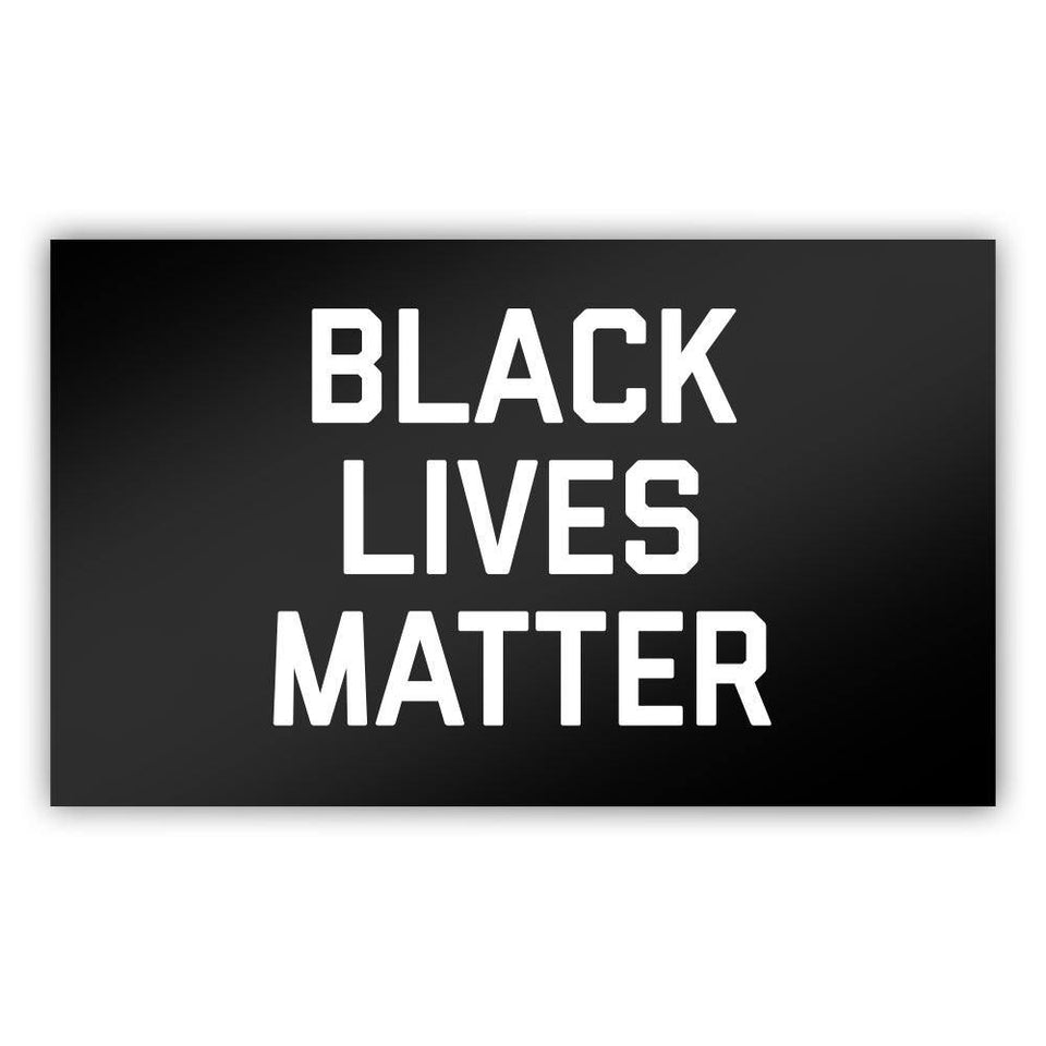 Black Lives Matter Sticker - Flags For Good
