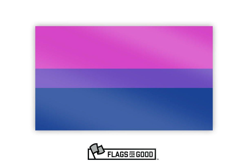 Bisexual (Bi) Pride Sticker - Flags For Good