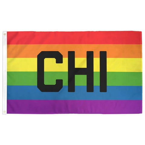 Chicago (CHI) Pride Flag - Flags For Good
