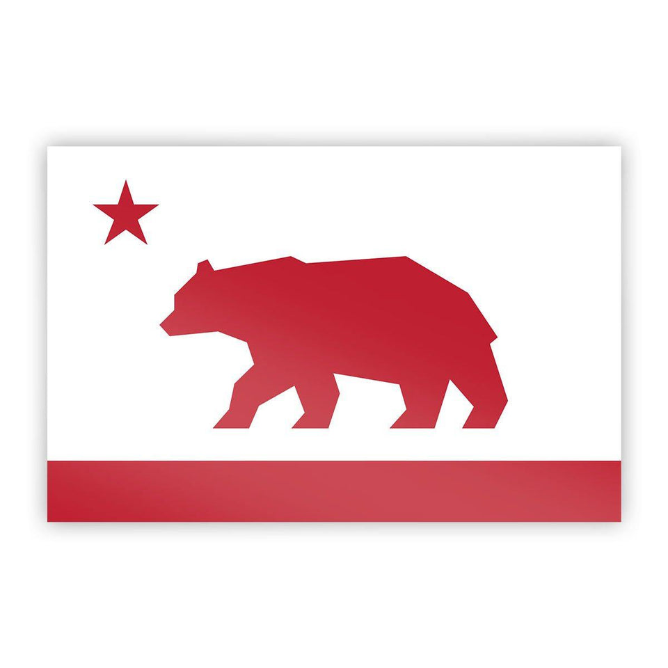 California Flag Sticker - Flags For Good
