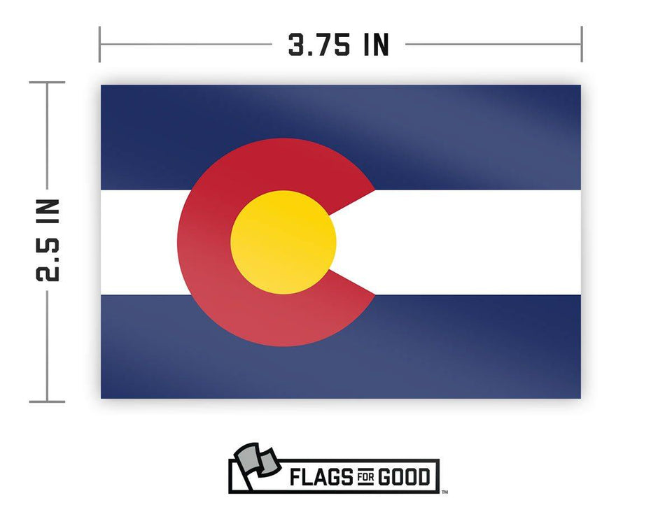 Colorado Flag Sticker - Flags For Good