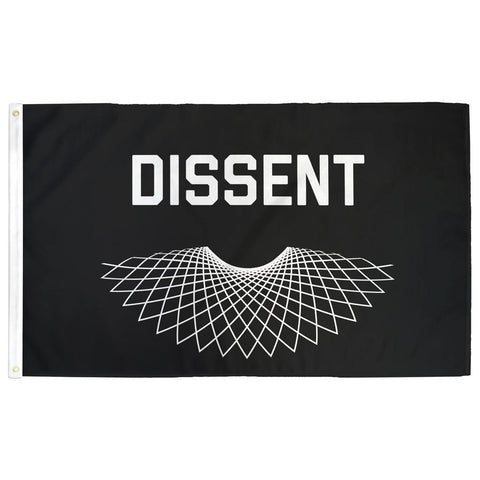 RBG Dissent Flag - Flags For Good