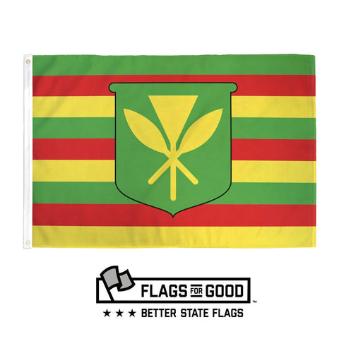 "Hawaii ""Kanaka Maoli"" Flag - Flags For Good"