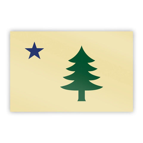 Maine Flag (1901) Sticker - Flags For Good