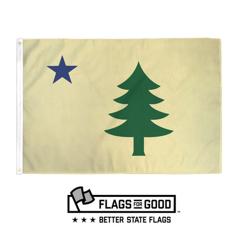 Maine 1901 Flag - Flags For Good