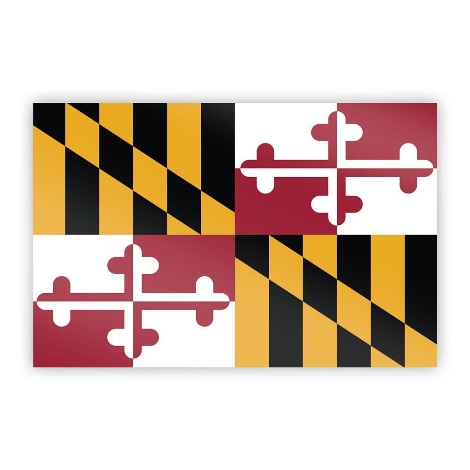 Maryland Flag Sticker - Flags For Good