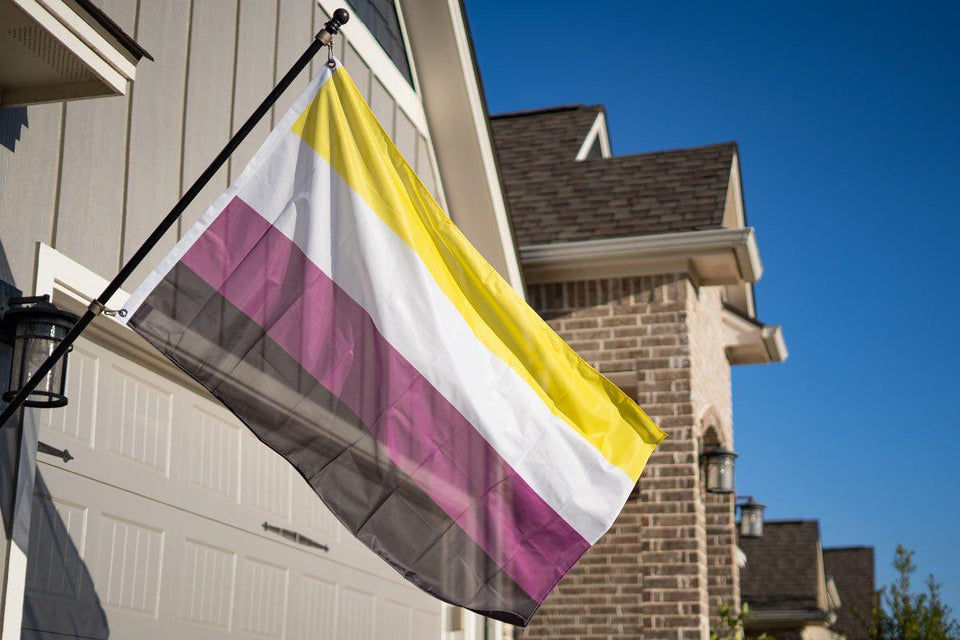 Non-binary (Genderqueer) Pride Flag - Flags For Good