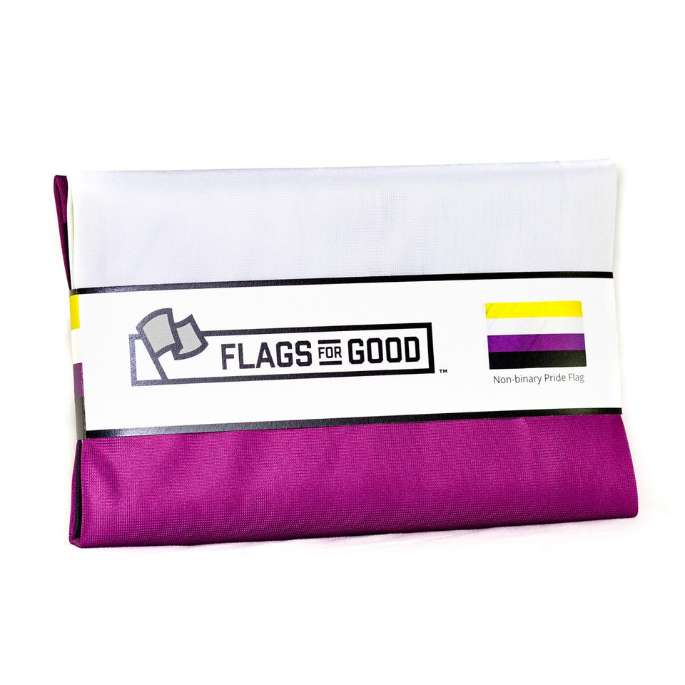 Non-binary Pride Flag - Flags For Good