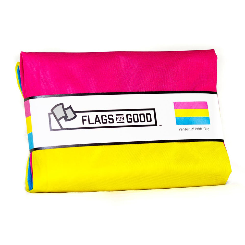 Pansexual (Pan) Pride Flag - Flags For Good