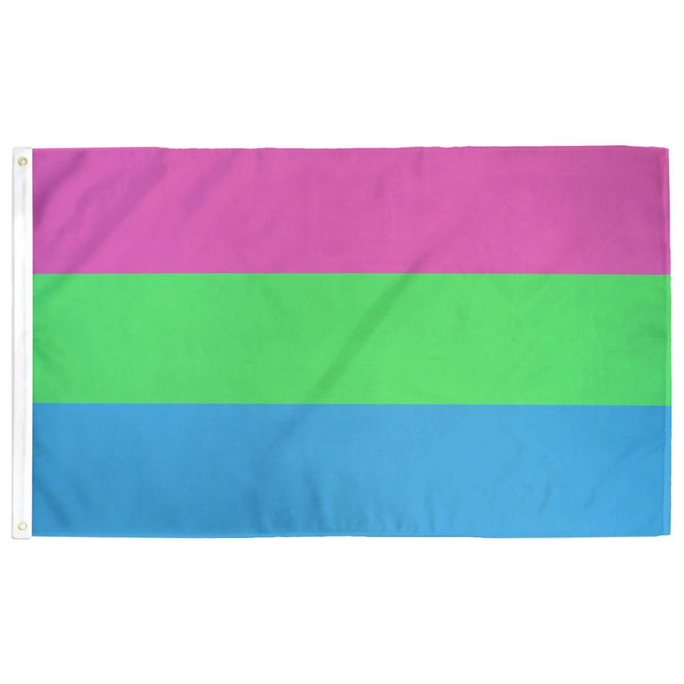 Polysexual (Poly) Pride Flag - Flags For Good