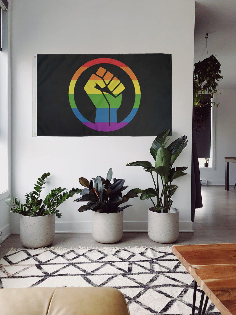 Black Lives Matter Pride Fist - Flags For Good