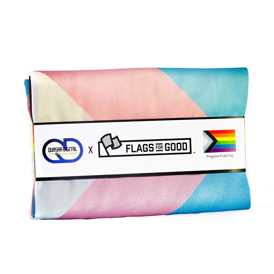Progress Pride Flag (Licensed) - Flags For Good