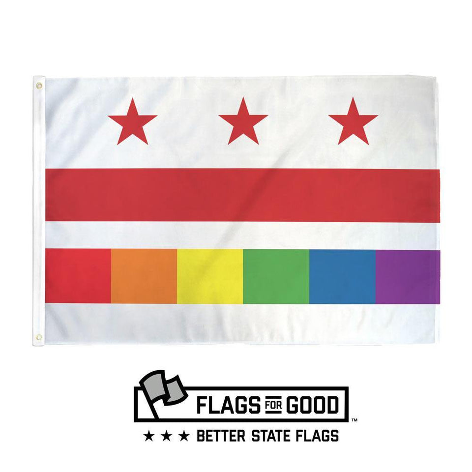 Washington DC Pride Flag - Flags For Good