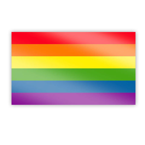 Rainbow LGBTQIA+ Pride Sticker - Flags For Good