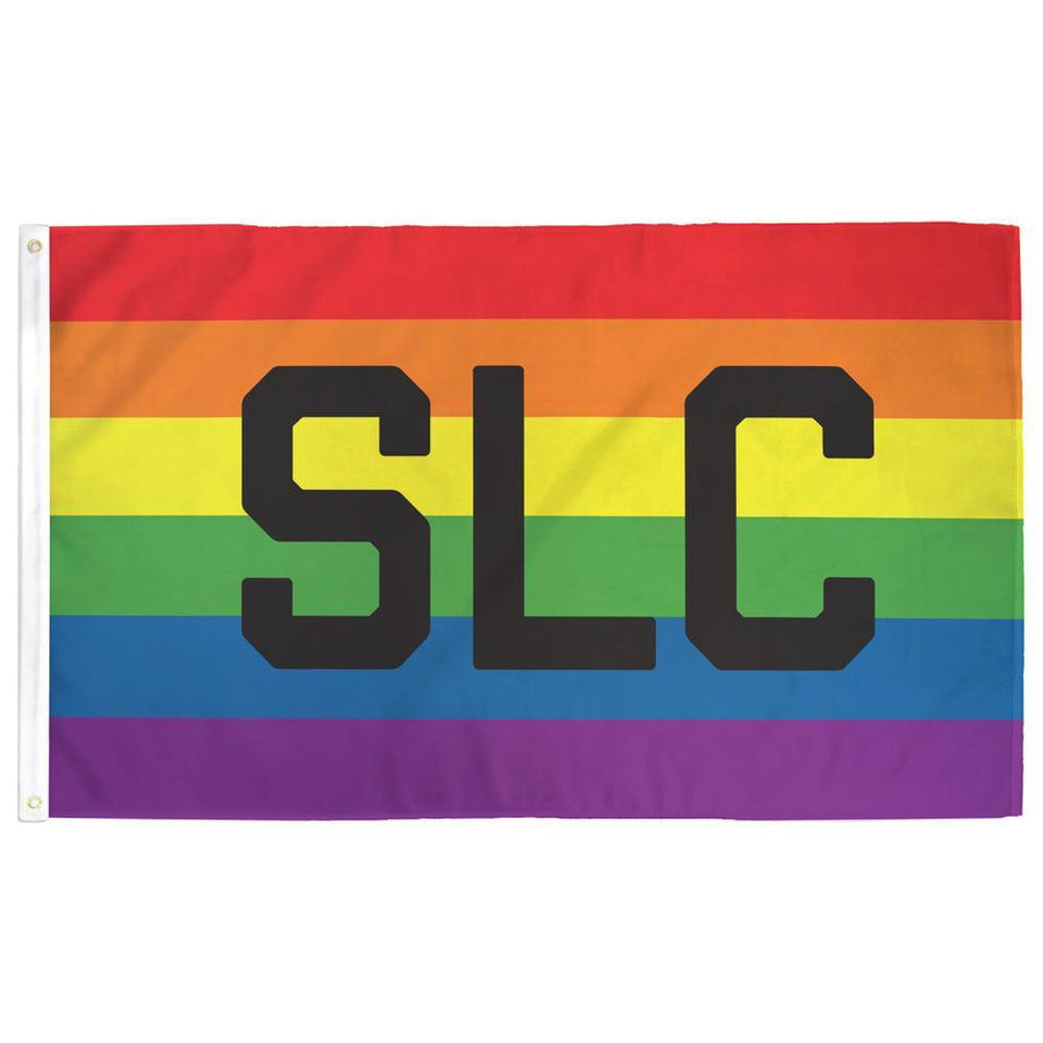 Salt Lake City (SLC) Pride Flag - Flags For Good
