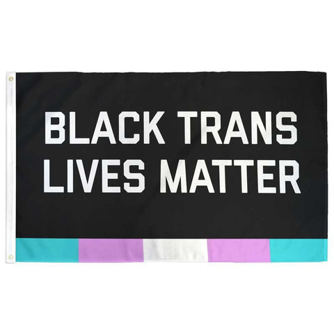 Black Trans Lives Matter Flag - Flags For Good