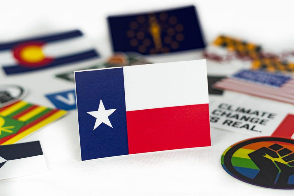 Texas Flag Sticker - Flags For Good