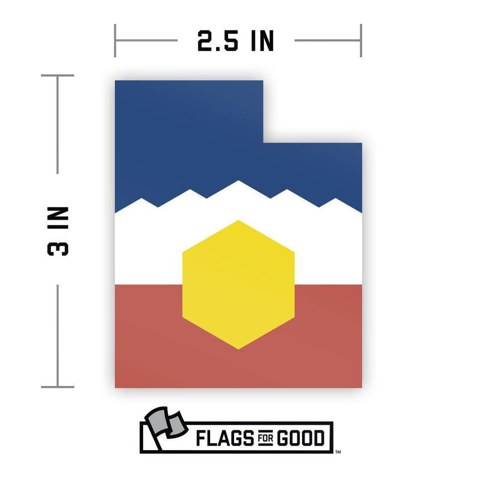 Utah Sticker - Flags For Good