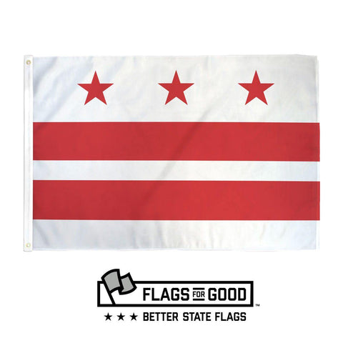 Washington DC Flag - Flags For Good