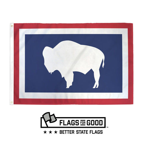 Wyoming Flag - Flags For Good