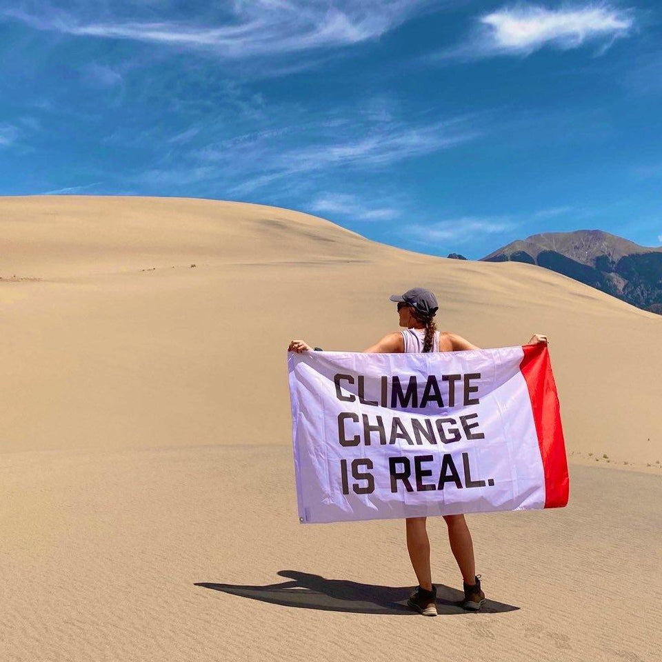Climate Change Is Real Flag - Flags For Good