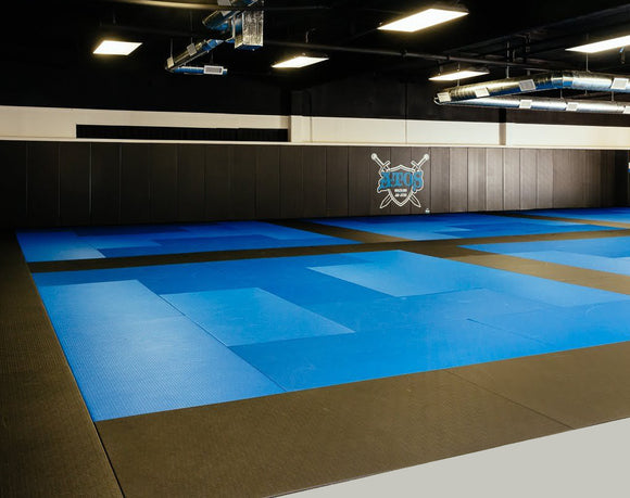 Martial Arts Club with Tatami Tile Mats