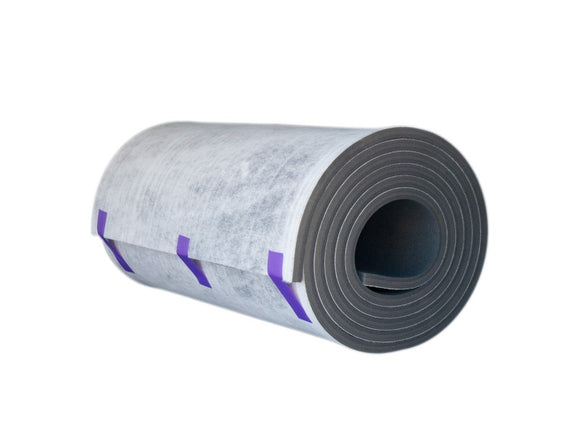 Scrim Backed Foam for Rod Floors