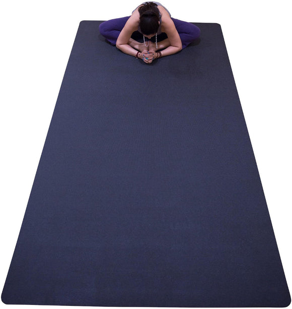 Stretching on Yoga Mat