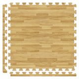"2' x 2' x 5/8"" Premium Soft Wood Grain Puzzle Mat, Set of 25 (100sf)"