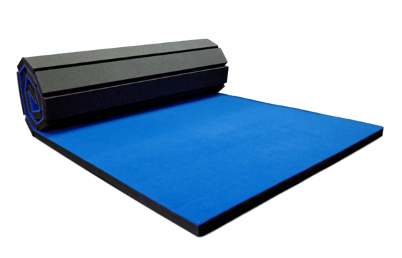 4' x 10' Vinyl Bonded Foam Home Practice Mat for Wrestling, Martial Arts, and Fitness