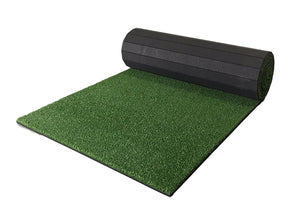 Partially Rolled Flexible Indoor Turf Mat