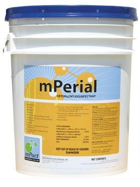5 Gallon Bucket of mPerial Detergent and Disinfectant
