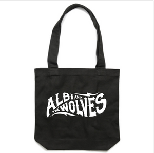 Albi & The Wolves tote bag - black