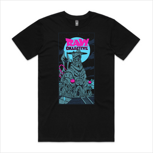 Raw Collective - Megalith tee, men's - black