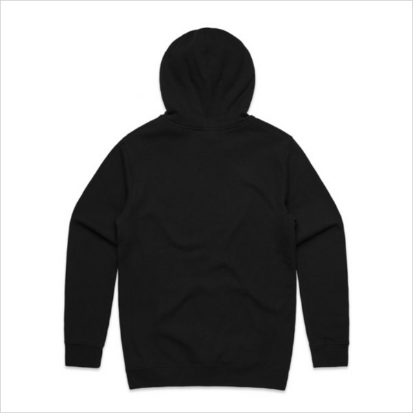 Sit Down In Front logo hoody, men's - black