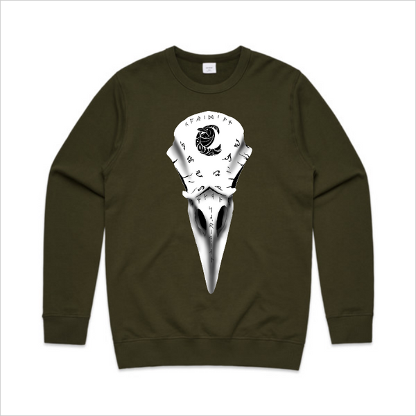 Coridian Skull crew - Front and back, army
