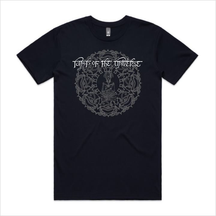 Lamp of the Universe tee, men's - navy