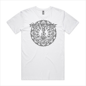 Lamp of the Universe tee, men's - white