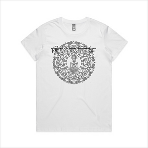Lamp of the Universe tee, women's - white