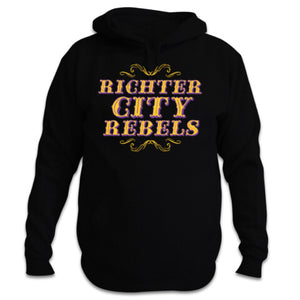 Richter City Rebels hoody - black