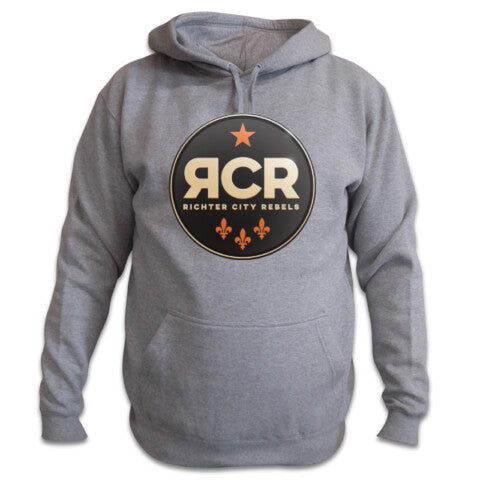 Richter City Rebels hoody - grey