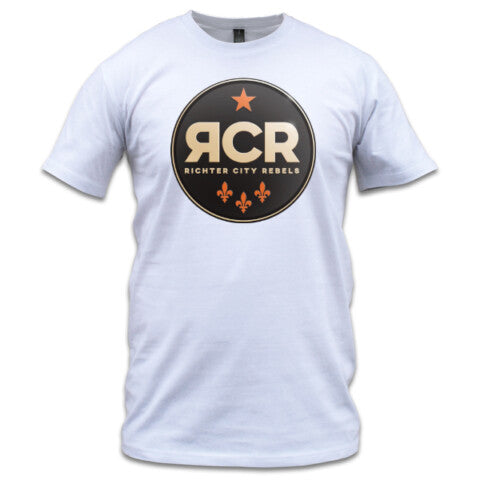 Richter City Rebels tee, men's - white