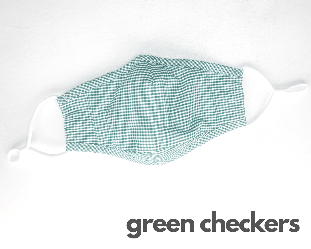 Washable, Reusable Fashion Face Mask + 4-Pack PM2.5 Filter Set - The Glowing Heart Project