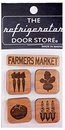 Farmers Market Magnet Set